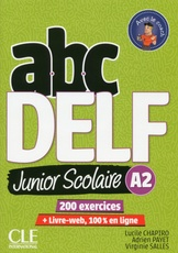 ABC Delf Junior A2: Livre De L'Eleve + CD