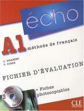 ECHO A1 FICHIER D'EVALUATION + FICHE PHOTO
