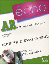 ECHO A2 FICH. EVALUATION PHOTOCO + CD