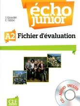 Echo Junior 2 - A2 -  Fichier d'evaluation + CD-Audio A2