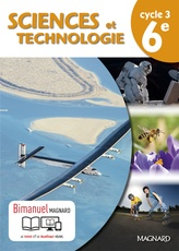SCIENCES ET TECHNOLOGIES 6E ELEVE BIMANUEL