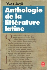 Anthologie de la litteratue latine (avec notes et vocabulaire)