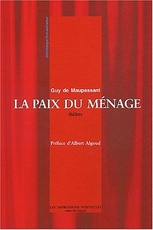 La paix du menage suivi de Au bord du lit (French Edition)