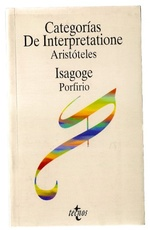 CATEGORIAS  DE INTERPRETATIONE  ISOGAGE