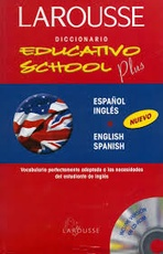 Diccionario Educativo School Plus Inglés / Español + CD