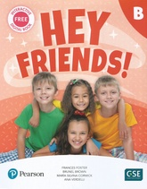 HEY FRIENDS B PUPIL'S BOOK + WORKBOOK