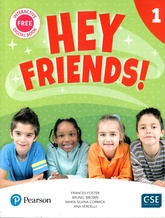 HEY FRIENDS 1 PUPIL'S BOOK + WORKBOOK
