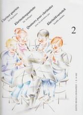 Clarinet quartets for Beginners, 2 (Usado)