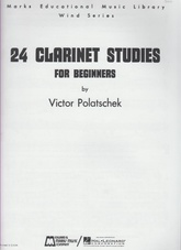 24 Clarinet Studies for Beginners (Usado)
