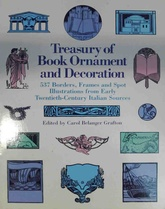 Treasury of book ornament and decoration (Usado)