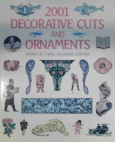 2001 Decorative cuts and ornaments (Usado)