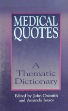 Medical quotes. A thematic dictionary (Usado)
