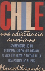 Chile. Una advertencia americana (Usado)