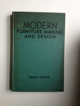 Modern furniture making and design (Usado)