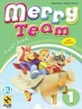 MERRY TEAM 1 ST BOOK+STICKERS