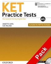 KET PRACTICE TESTS- STUDENT`S with Key & Audio CD