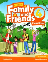 FAMILY AND FRIENDS  4 - STUDENT`S & MultiRom *2nd Edition