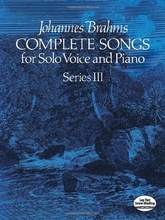 Complete songs for Solo Voice and Piano Series 3
