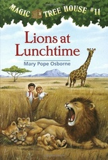 Lions at lunchtime - Magic tree house N 11