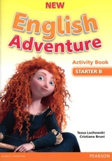 ENGLISH ADVENTURE -STARTER ACTIVITY BOOK B  **New Edition**