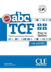 ABC DELF TCF + LIVRET + CD NE - version Quebec