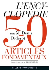 L'Encyclopedie - 50 articles fondamentaux