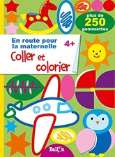 Coller et colorier 4+