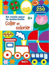 Coller et colorier 5+