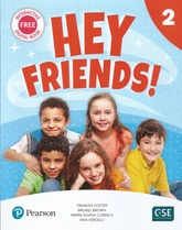 HEY FRIENDS 2 PUPIL'S BOOK + WORKBOOK