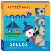 Arty Mouse: Sellos