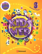 KIDS WEB 3 NEW (CB+ CD +COMIC BOOK) PACK