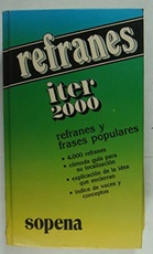 ITER 2000 REFRANES Y FRASES POPULARES