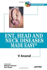 ENT HEAD AND NECK DISEASES MADE EASY + DVD