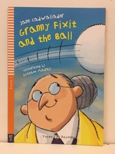 GRANNY FIXIT AND THE BALL with Audio CD - Hub Stage 1 *N/E*
