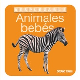 Animales bebés. Desplegable