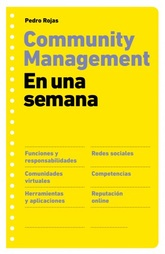Community management. En una semana