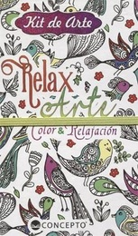 KIT DE ARTE COLOR Y RELAJACION. MANDALAS