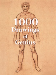 Tapa del libro 1000 Drawings Of Genius