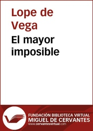 Tapa del libro El Mayor Imposible