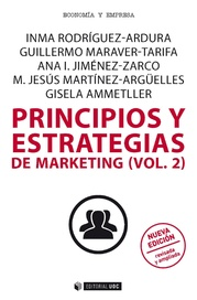 Tapa del libro Principios y Estrategias de Marketing (vol.2)