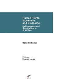 Tapa del libro Human Rights Movement And Discourse