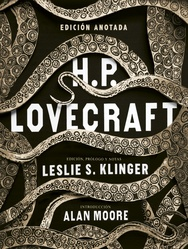 Tapa del libro H.P. LOVECRAFT ANOTADO