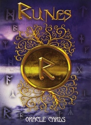 Tapa del libro RUNES ORACLE CARDS (LIBRO + CARTAS)
