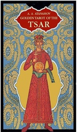 Tapa del libro GOLDEN OF THE TSAR ( LIBRO + CARTAS ) TAROT