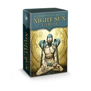 Tapa del libro MINI NIGHT SUN ( LIBRO + 78 CARTAS ) TAROT