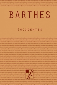 Tapa del libro INCIDENTES