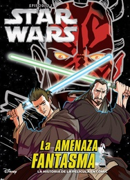 Tapa del libro STAR WARS EPISODIO I. LA AMENAZA FANTASMA