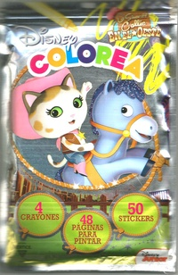 La Sheriff Callie 48 Páginas Para Colorear 50 Stickers