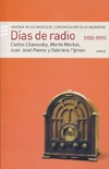 DIAS DE RADIO 1920-1959  (c/CD audio)