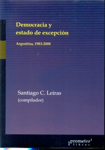 DEMOCRACIA Y ESTADO DE EXCEPCION